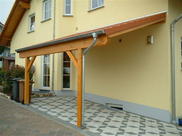 Vordach Unterkonstruktion Holz ~ Systembau Produkt 3